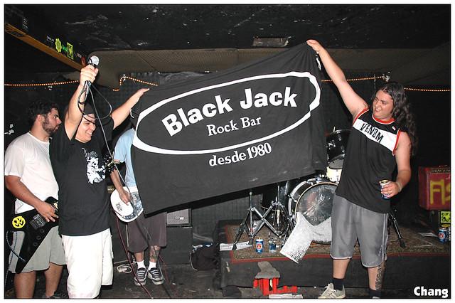 black jack bar