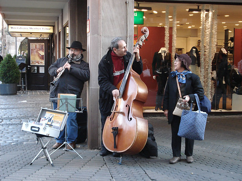 Nurenberg Christmas market - jammin' on the street | by maki