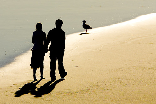 2-people-beach-shadows-003 | by mikebaird