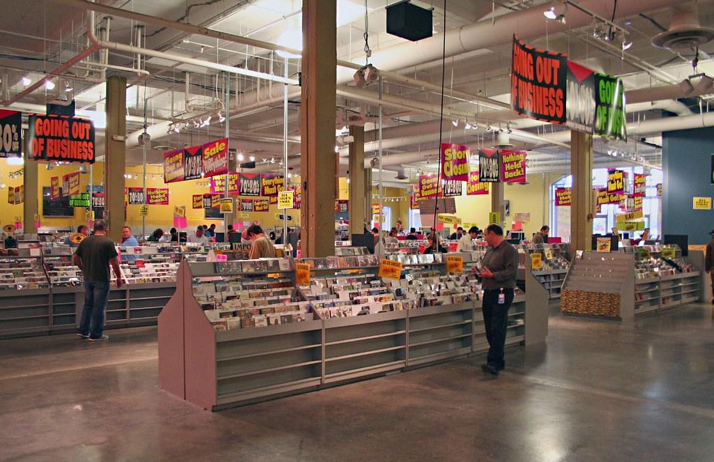 Tower Records Atlanta Closing Doing A Brisk Business