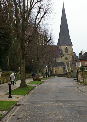 Horsham - The Causeway and St.Mary's Church | by DaveCox