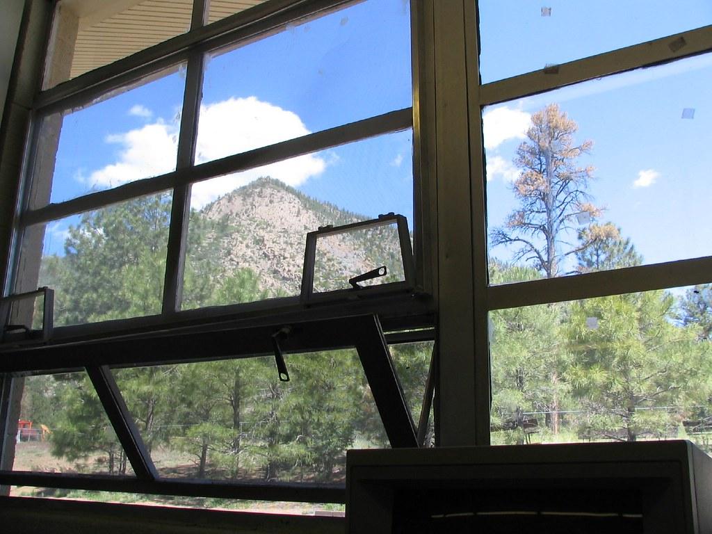 classroom window. Christensen School Classroom Window | By Rockychrysler S