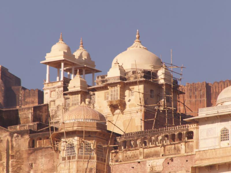 India Rajasthan Jaipur Fuerte Amber