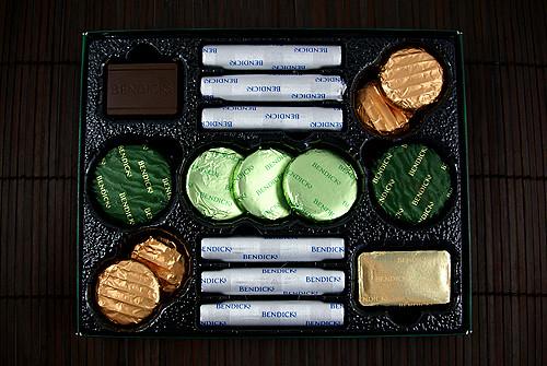 White Chocolate Mints Bendicks