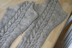 CHP sleeve done! | by tentenknits