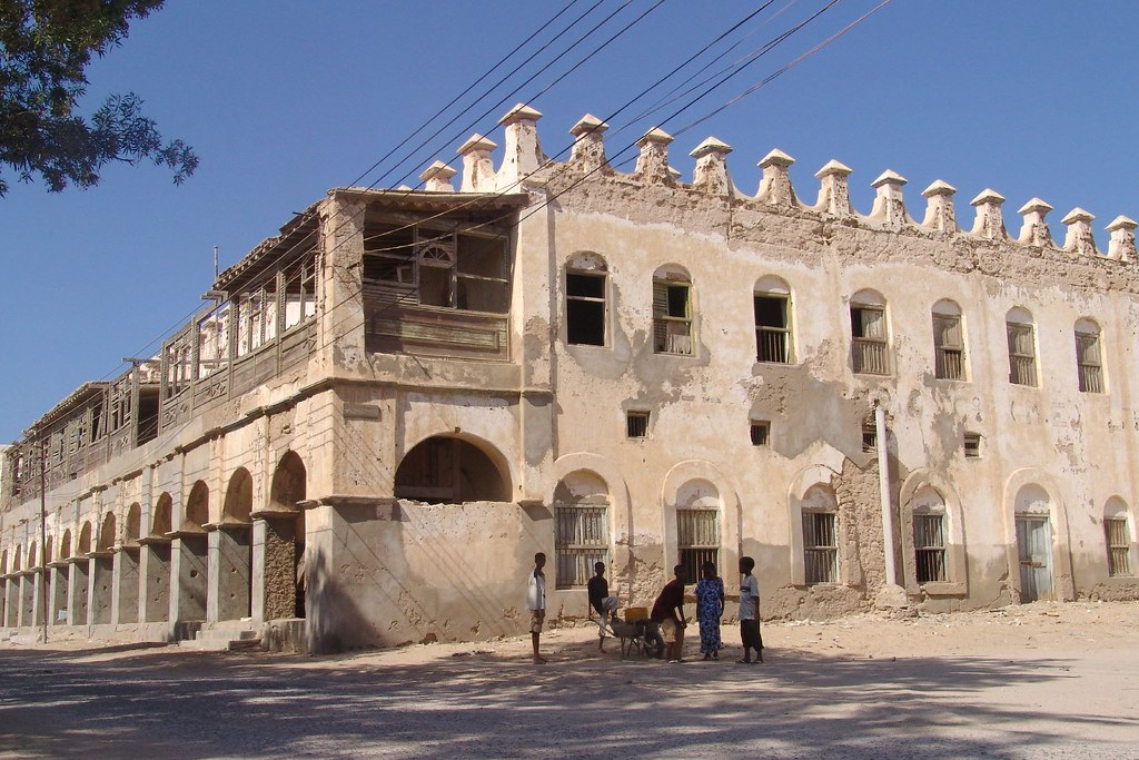 Ottoman Architecture In Berbera Charles Roffey Flickr