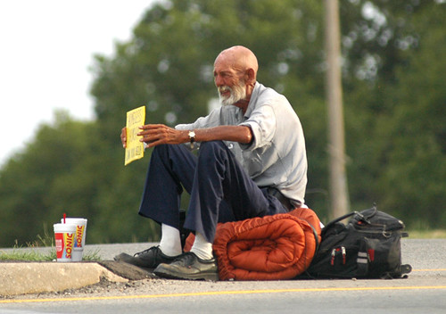 homeless, elderly and very hot | by Wandering Eyes