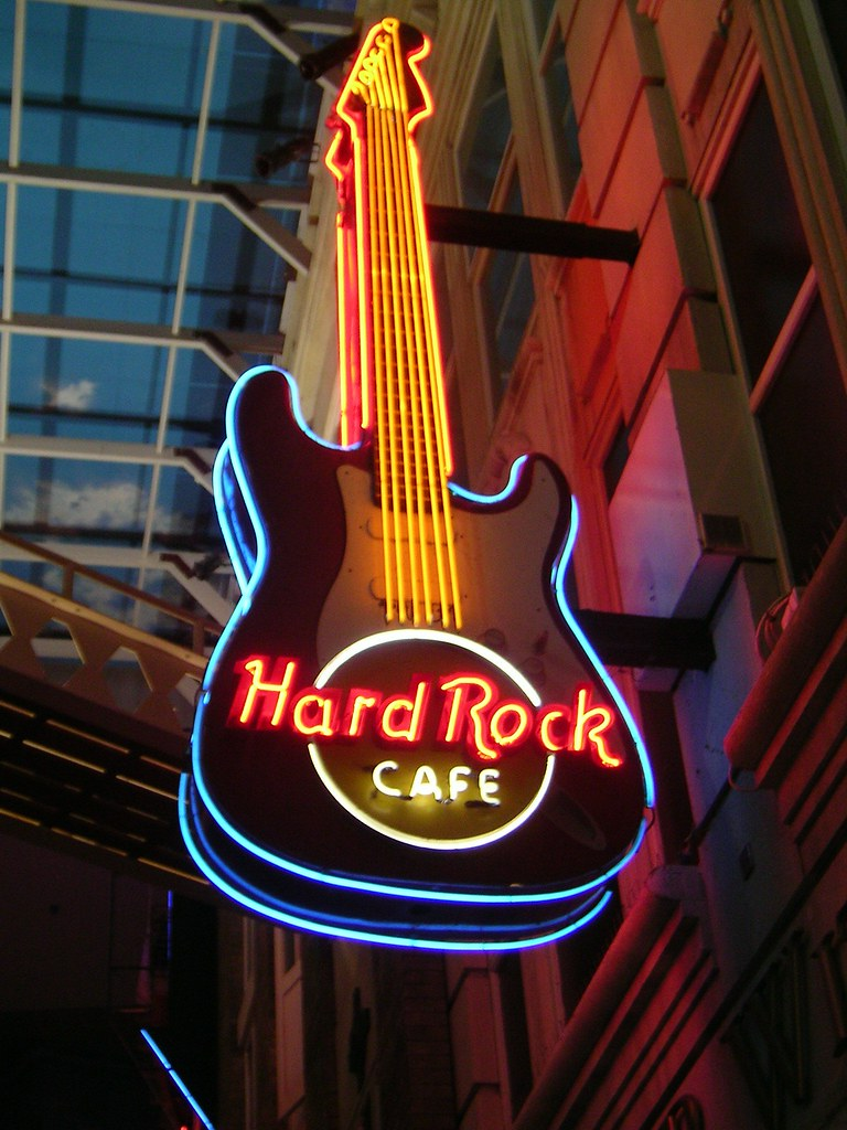 Hard Rock Cafe   Manchesters Hard Rock Cafe in The