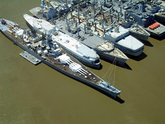 USS Iowa and Mothball fleet, Suisun Bay, California | by Telstar Logistics