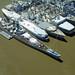 USS Iowa and Mothball fleet, Suisun Bay, California