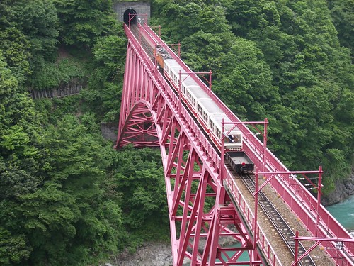 Kurobe Gorge Railway | by tsuda