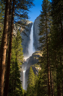 Upper and Lower Yosemite Falls | by tychay