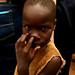 IDP camp nose pick