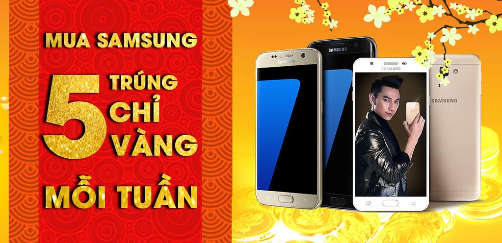 Mua Samsung trúng Vàng tại CellphoneS.com.vn