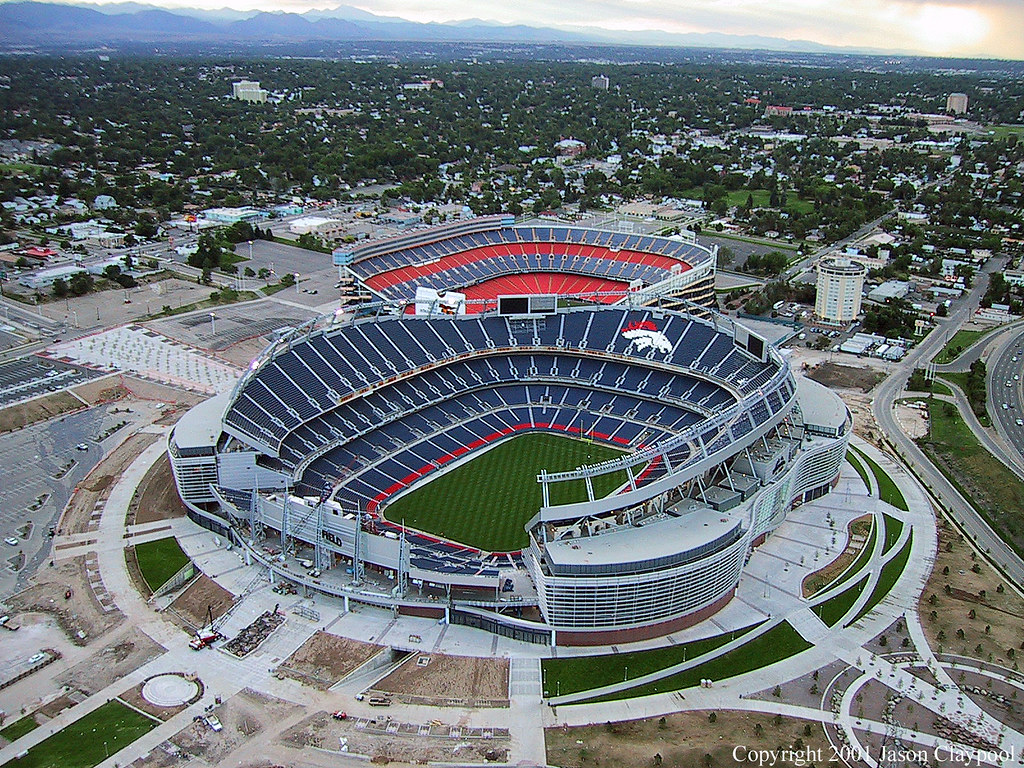 Sports Authority Sponsorship of Denver Broncos Terminated ... |Mile High Stadium Denver Broncos