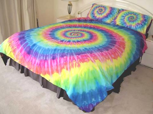 Tie Dye Bed Covers