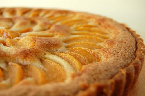 Peach Frangipane Tart | by Mad Baker © flickr.com