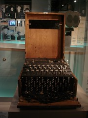 Enigma machine, Churchill museum | by Zouave