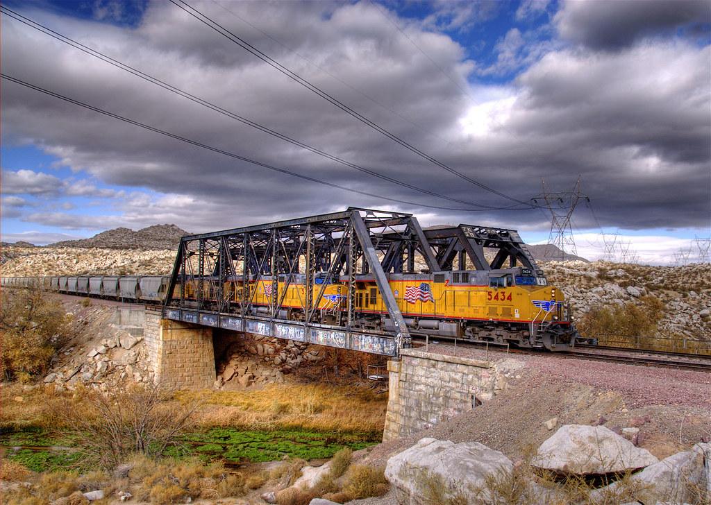 Railfanning Oro Grande Railroad Bridges Victorville Cal