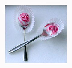 peppermint marshmallow spoons | by Jocelyn | McAuliflower