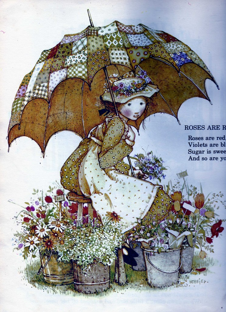 Holly Hobbie From A Vintage Holly Hobbie Book Nursery