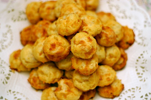 gougeres, a wee deflated | by smitten kitchen