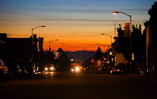 Piedmont Avenue Kind of Sunset | by Thomas Hawk