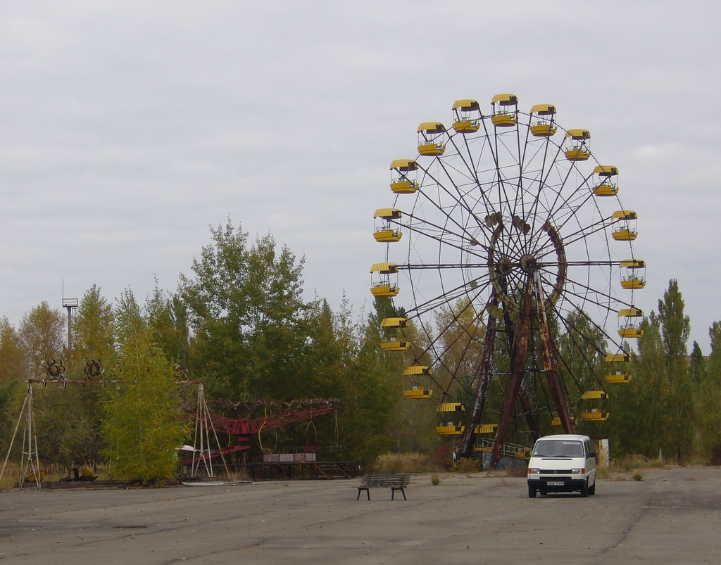 Chernobyl Amusement Park View Large The Amusement Park