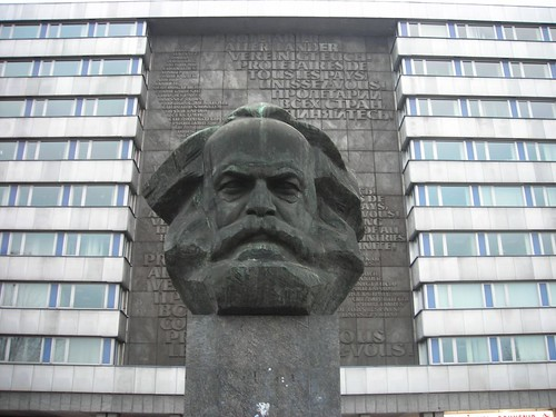 Karl Marx Bust | by rwhgould