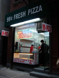 99 Cent Fresh Pizza New Location Midtown NYC