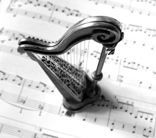 Can't read music?  Don't harp on it. | by canonsnapper