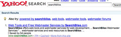 Yahoo Search Results for SearchBliss After Fix | by rustybrick