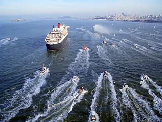 RMS Queen Mary 2 Arrives in San Francisco | by Telstar Logistics