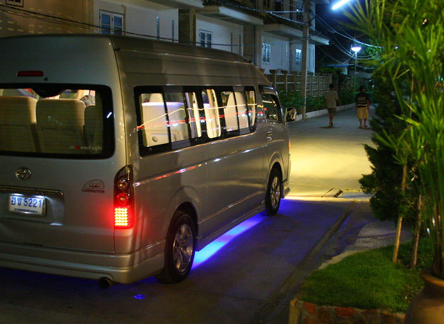 Thailand S Pimped Out Taxi Our Personal Hotel Cab Flickr