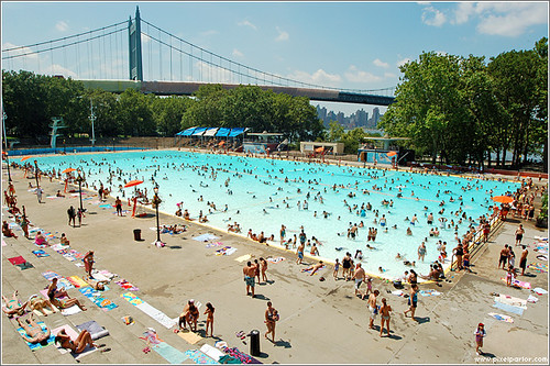 astoria pool in queens this is astoria pool in the summer flickr. Black Bedroom Furniture Sets. Home Design Ideas