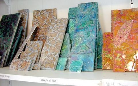 Top ellen's tempered glass mosaic tile samples | Ellen Blakely t… | Flickr DD51
