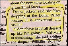 You Know You're A Redneck If Your Wife Is Quoted In The Local Paper Saying... | by Bill Adams