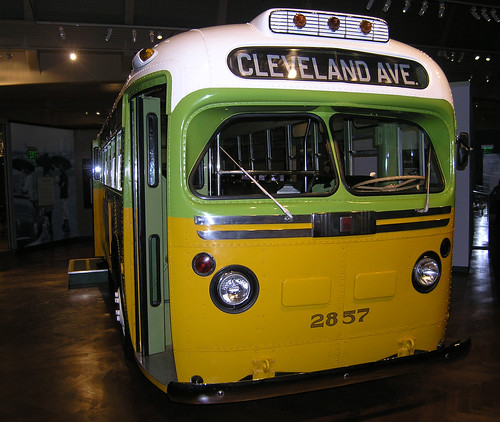 Rosa Parks Bus This Is The Montgomery Alabama Bus That