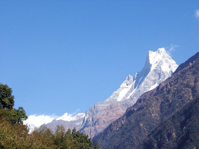 19 najpiękniejszych gór świata. Machhapuchhare