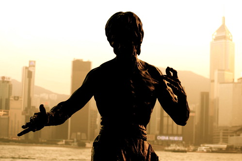 bruce lee statue | by jonrawlinson