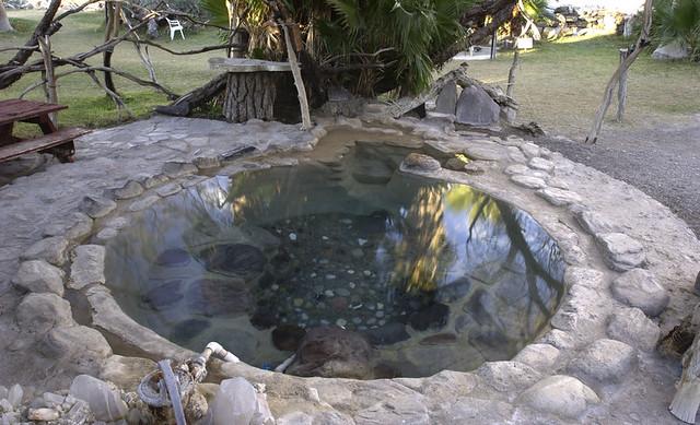Saline Valley warm springs  Lower pool  | Very, very nice ho