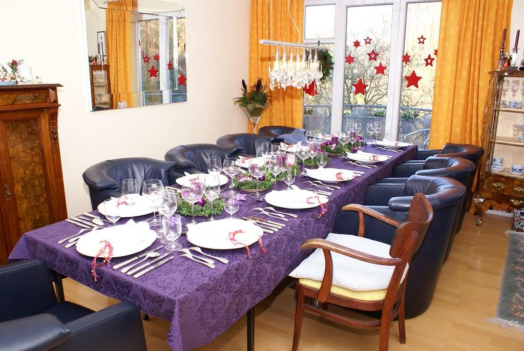The christmas dinner table the christmas dinner table in for Table 6 brunch denver