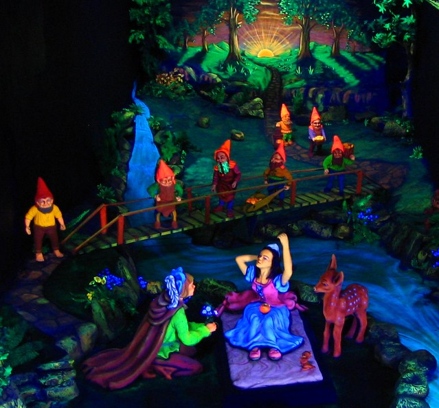 Snow White At Rock City In Addition To The Thought Of