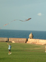kite at old sanjuan, el morro | by eljibaro1205