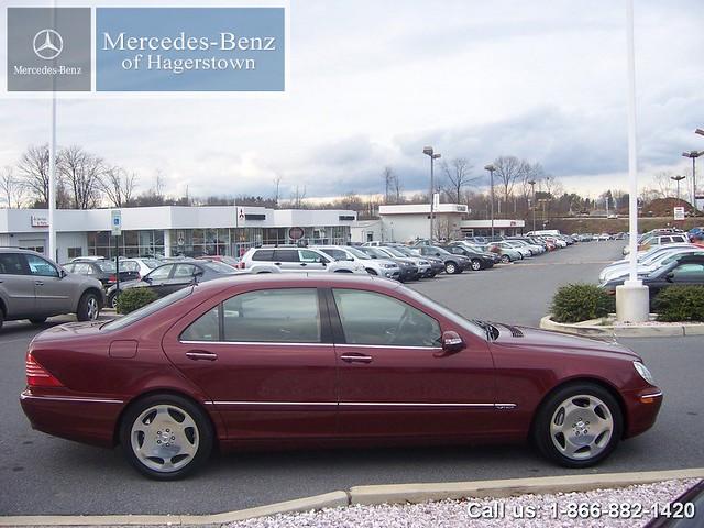 Mercedes Benz Of Hagerstown >> 2003 Mercedes-Benz S600 V12 - Bordeaux Red | 2003 Mercedes-B… | Flickr