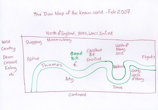 Hand Drawn Map of London Feb 07 | by Danny McL