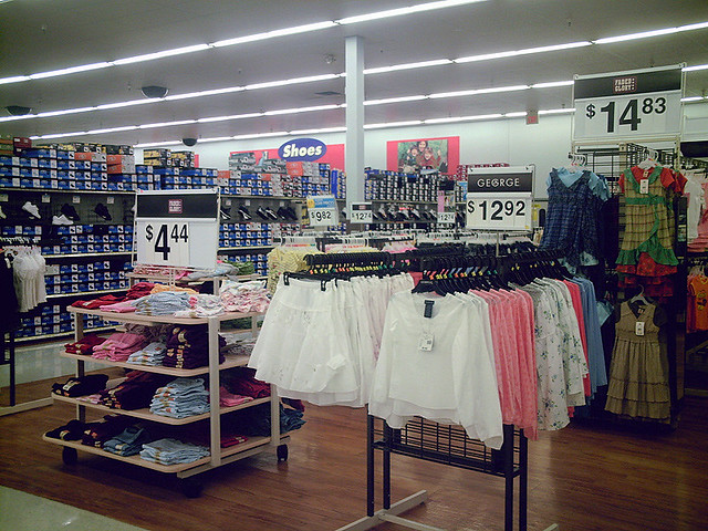 clothing clean wal mart flickr