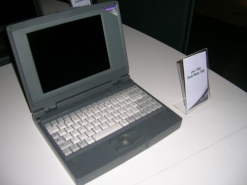 Acer Note 760i | Acer Note 760i (1995) | Michael Walsh ...