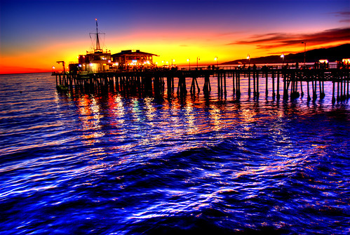 Sunset Pier | by EncinoMan