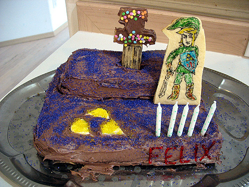 Birthday Cake Ideas Zelda